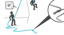 Осторожно с короткой веревкой